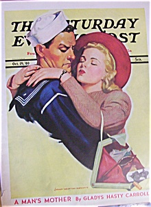 Saturday Evening Post Magazine - October 19, 1940 (Image1)