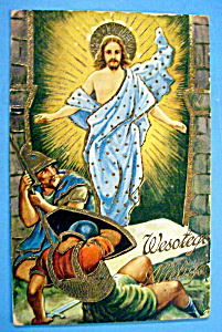 Wesotego Alleluja (Easter) Postcard (Image1)