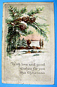 With Love & Good Wishes For Your Christmas Postcard (Image1)