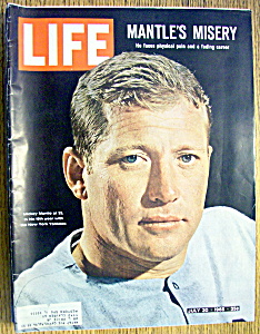 Life Magazine - July 30, 1965 - Mickey Mantle's Misery