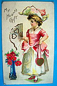 My Heart's Gift Postcard (Image1)