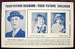 Your Future Husband & Your Future Children Postcard