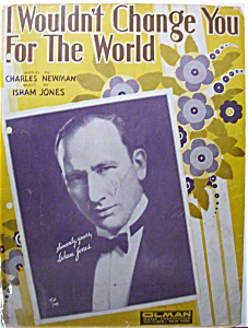 1931 Wouldn't Change You For The World / Newman & Jones