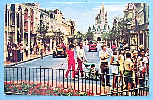 Main Street U.S.A. Postcard (Image1)