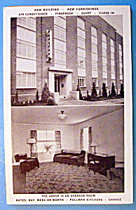 The Ongford Hotel, Oregon Postcard