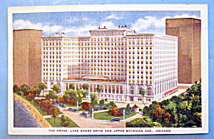 The Drake Hotel, Chicago Postcard (Image1)