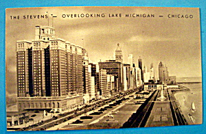 The Stevens, Chicago Postcard (Image1)