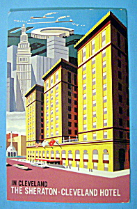 The Sheraton-cleveland Hotel Postcard