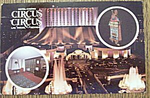 Circus Circus Hotel Casino Postcard (Image1)