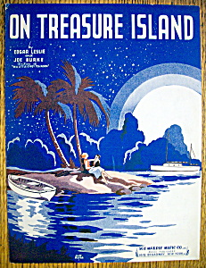 Sheet Music For 1935 On Treasure Island By Leslie/burke