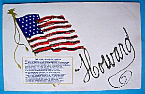 The Star Spangled Banner Postcard (Image1)