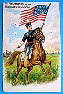 Soldier Bold & Brave Postcard (Image1)