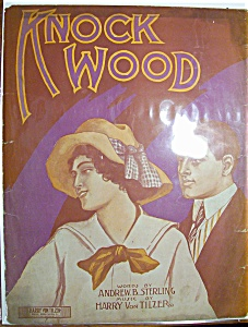 Sheet Music Of 1911 Knock Wood