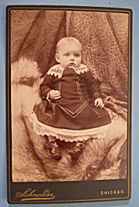 Bright Eyes - Cabinet Photo of a Wide Eyed Boy (Image1)