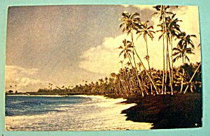 Kalapana Beach in Hawaii Postcard (Image1)