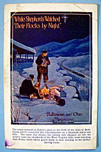 Scene Enacted on Judea's Plain Postcard By Herb Stitt (Image1)