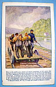 Colonel Schoomaker Postcard (Baltimore & Ohio) (Image1)