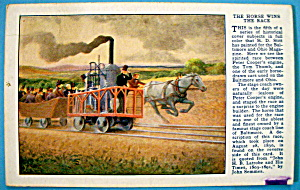 The Horse Wins The Race Postcard (Baltimore & Ohio) (Image1)