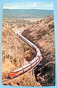 Gliding Through Apache Canyon Postcard (Image1)