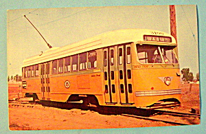 PCC Streamliner #3100 Postcard (Image1)