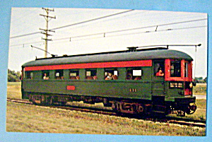 Car 411 CNSM Observation Car Postcard (Image1)
