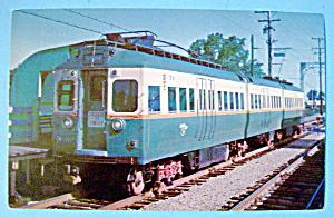 Skokie Swift Transit Car Postcard (Image1)