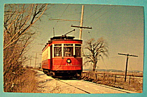 Chicago Surface Lines Streetcar #144 Postcard (Image1)