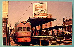 Electroliner Train Car Postcard (Image1)