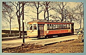 Chicago Surface Lines 3311 Car Postcard (Image1)