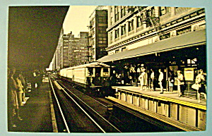 Chicago Transit Authority 4000 Series E Car Postcard (Image1)