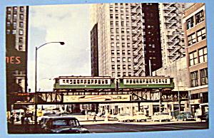 Chicago Transit Authority 4000 Series E Train Postcard (Image1)