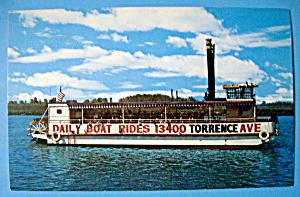 Luella Belle Riverboat Postcard (Image1)
