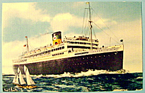 Moore-McCormack Liners Postcard (Image1)