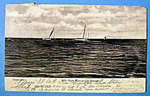 Yacht Race on Lake Ontario Postcard (Image1)