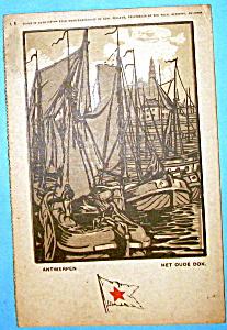 View Of Antwerpen Postcard (Image1)