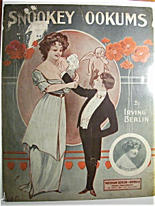 Sheet Music Of 1913 Snookey Ookums By Irving Berlin