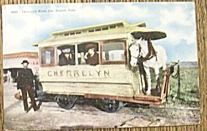 Cherrelyn Horse Car Postcard (1961 Horse Car) (Image1)