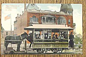Rapid Transit in Ontario, Calif. 1895 (Image1)