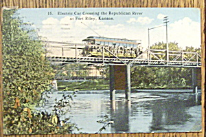 Electric Car Crossing the Republican River (Image1)