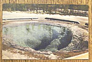 Morning Glory Pool Postcard (Yellowstone National Park) (Image1)