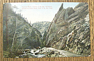 Sentinel Rock, Cannon of the Big Thompson (Image1)