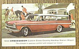 1960 Ambassador Postcard (Hardtop Station Wagon) (Image1)