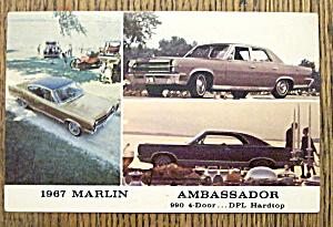 Ambassador '67 Postcard (Image1)