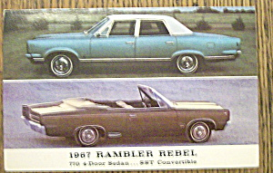 1967 Rambler Rebel Postcard (Image1)