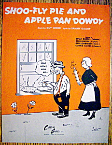Sheet Music For 1946 Shoo-fly Pie & Apple Pan Dowdy