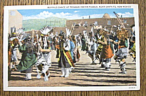 Buffalo Dance At Tesuque Indian Pueblo