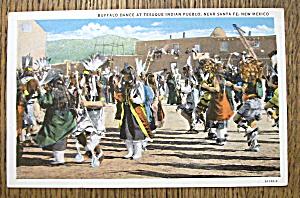 Buffalo Dance at Tesuque Indian Pueblo (Image1)
