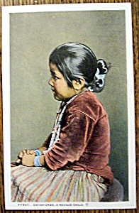 Zuyah-chee, A Navajo Child