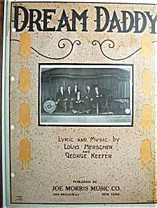Sheet Music For 1923 Dream Daddy By Louis Herscher (Image1)