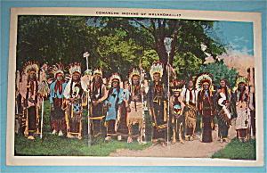 Comanche Indians of Oklahoma Postcard (Image1)
